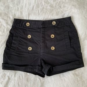 Talula high-waisted sailor shorts